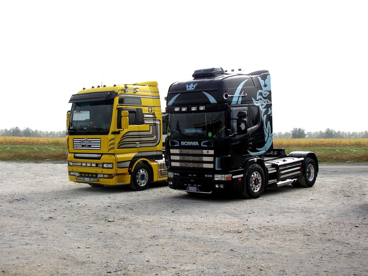 Stoliki do samochodów ciężarowych