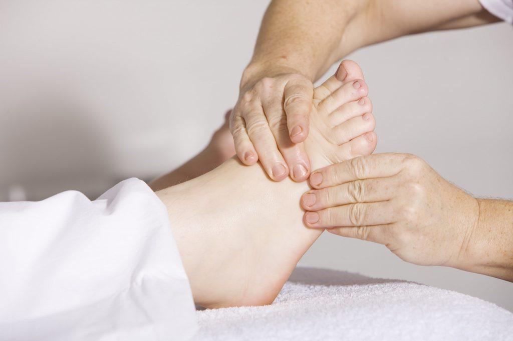Pielęgnacja ortezy stopy